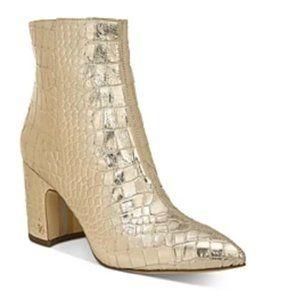 Sam Edelman Women's Hilty Block Heel Booties 7.5M